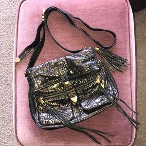 Rebecca Minkoff metallic wash crossbody handbag
